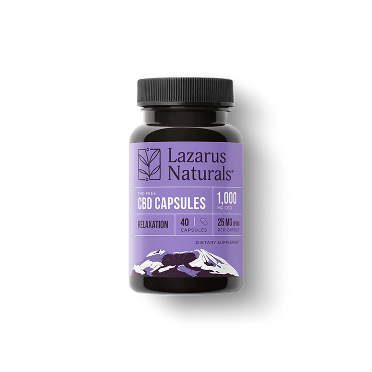 Relaxation 25mg CBD Capsules