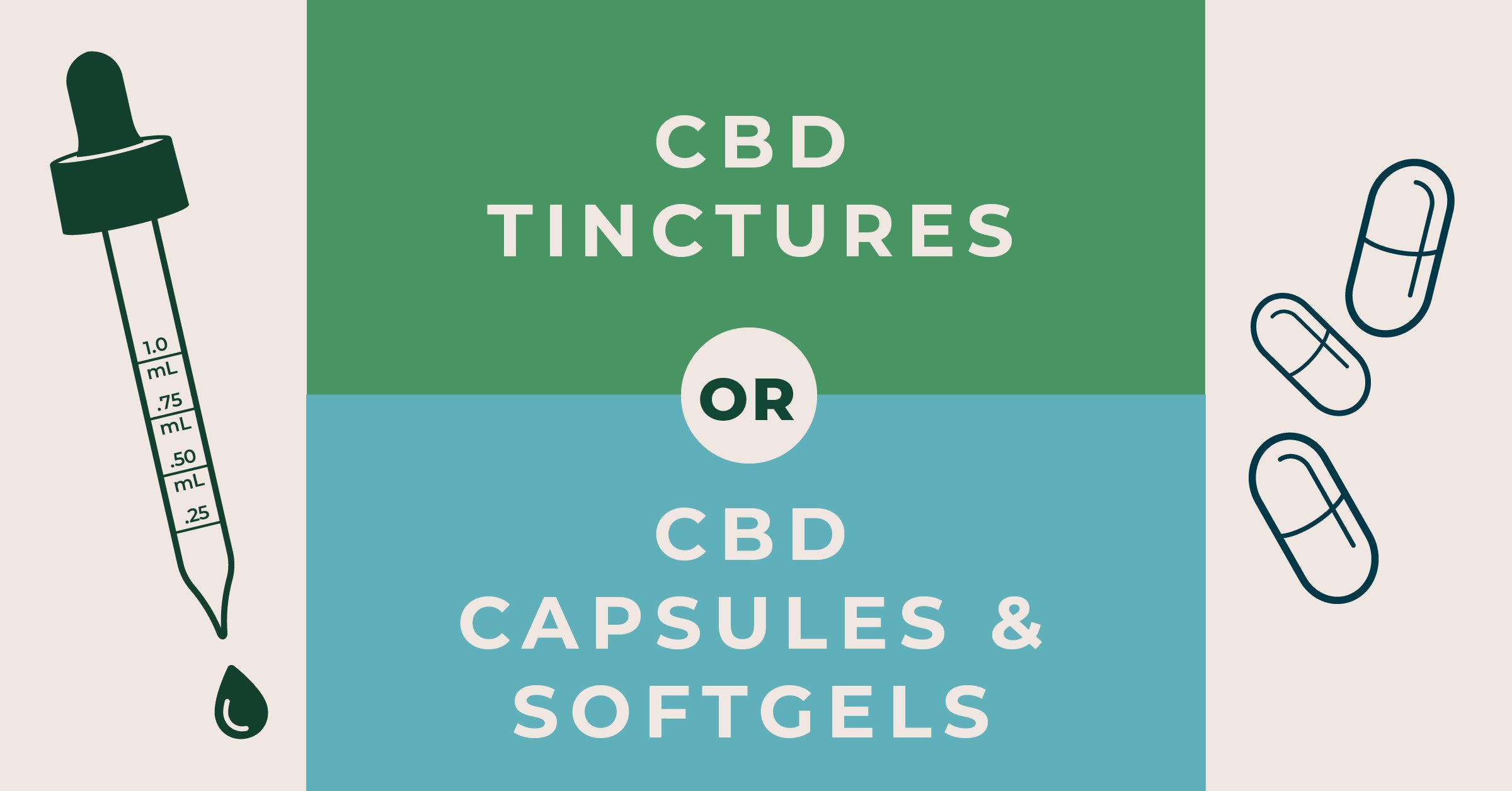 Which is better, CBD tinctures or capsules?
