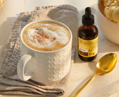 How To Make Pumpkin Lattes With French Vanilla Mocha Whipped Cream