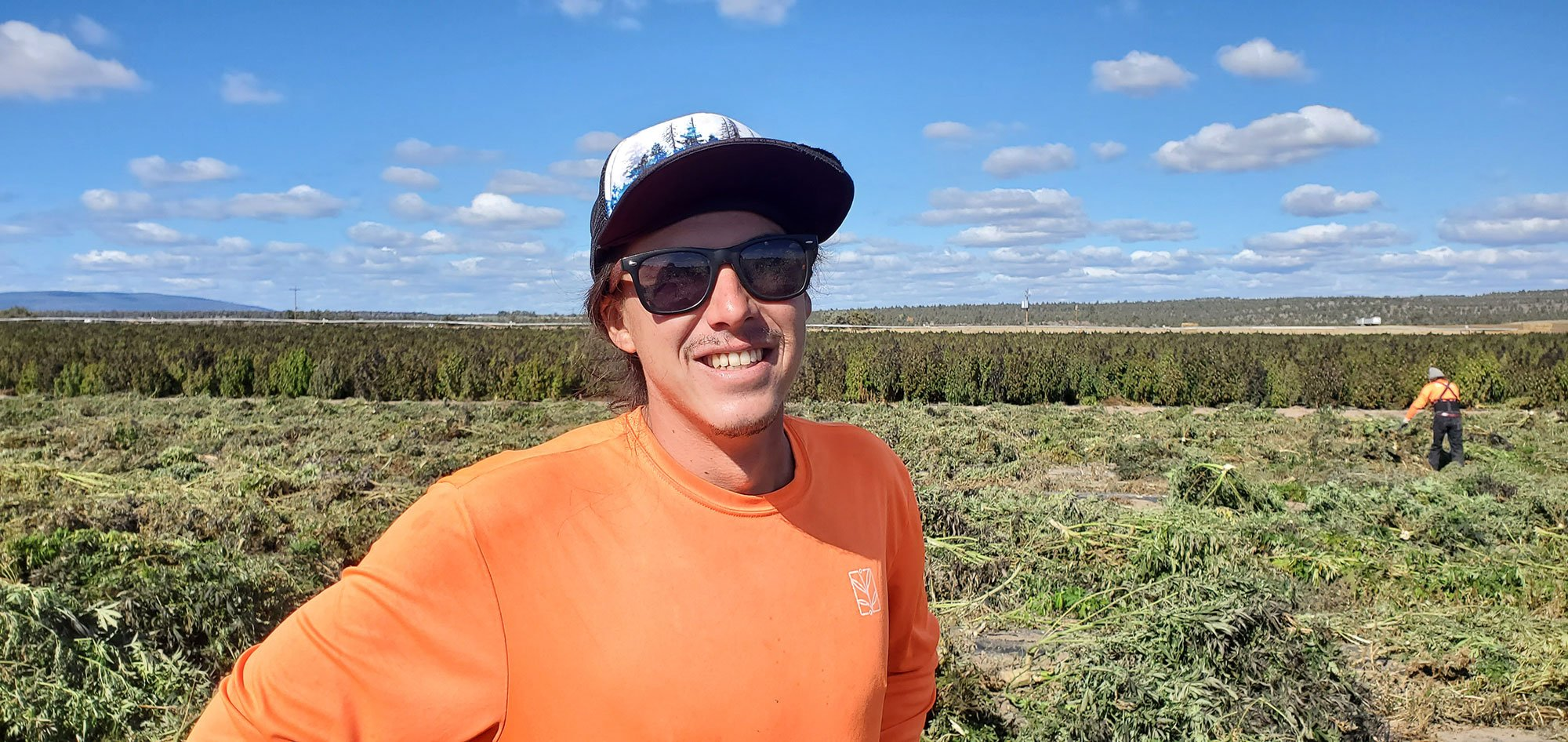 Faces of the Farm: Kanoe Phillips - Field Hand Lead & Irrigation Assistant