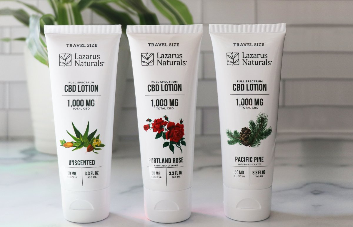 New Lotions inspired by the Northwest with 50mg of CBD per tsp