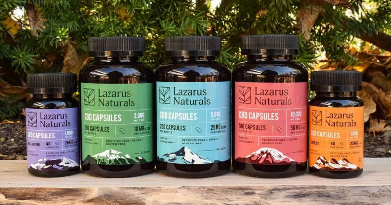 "Lazarus Naturals Named In CBD Hacker's ""Best Capsules And Softgels"" List"