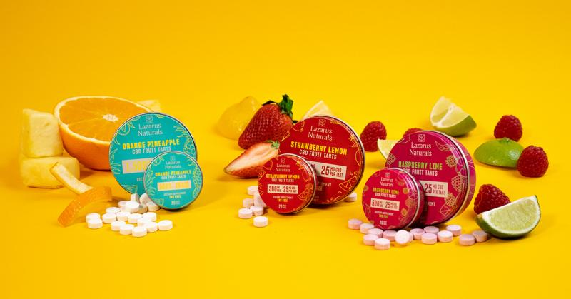 A CBD Edible That Works: Meet Award-Winning Fruit Tarts