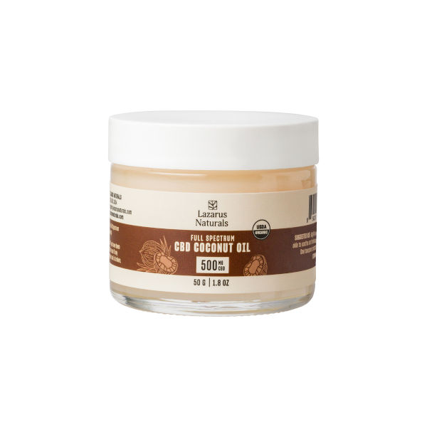Lazarus Naturals product category: coconut oil